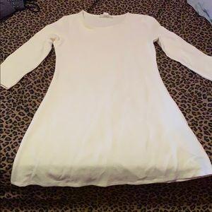 Short Le white dress